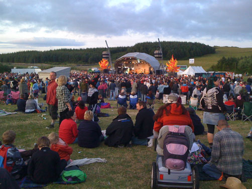 Wickerman Festival, Scotland 2009