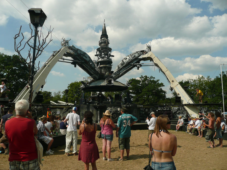 Arcadia Stage - Glastonbury 2010