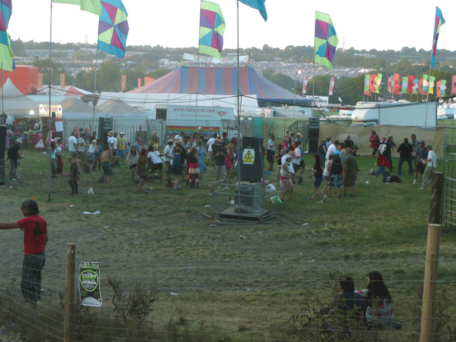 Experimental Sound Field - Glastonbury 2010