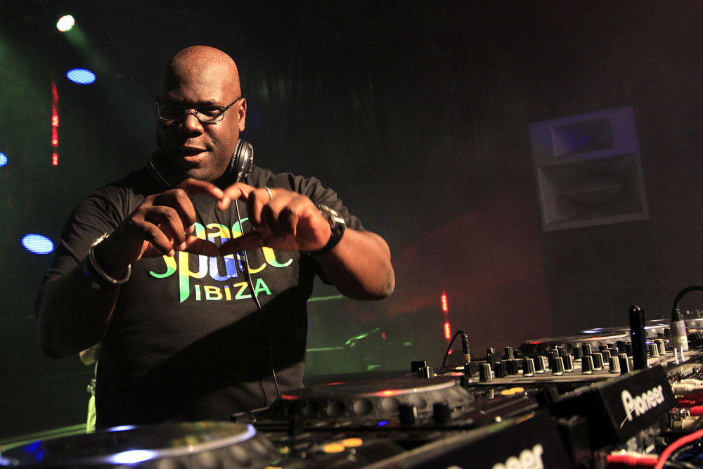 Carl Cox loving the Funktion One