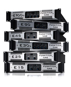 E-Series Amplifiers