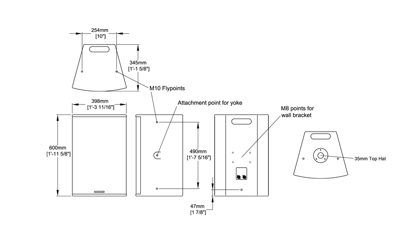 F1201 Technical Drawing