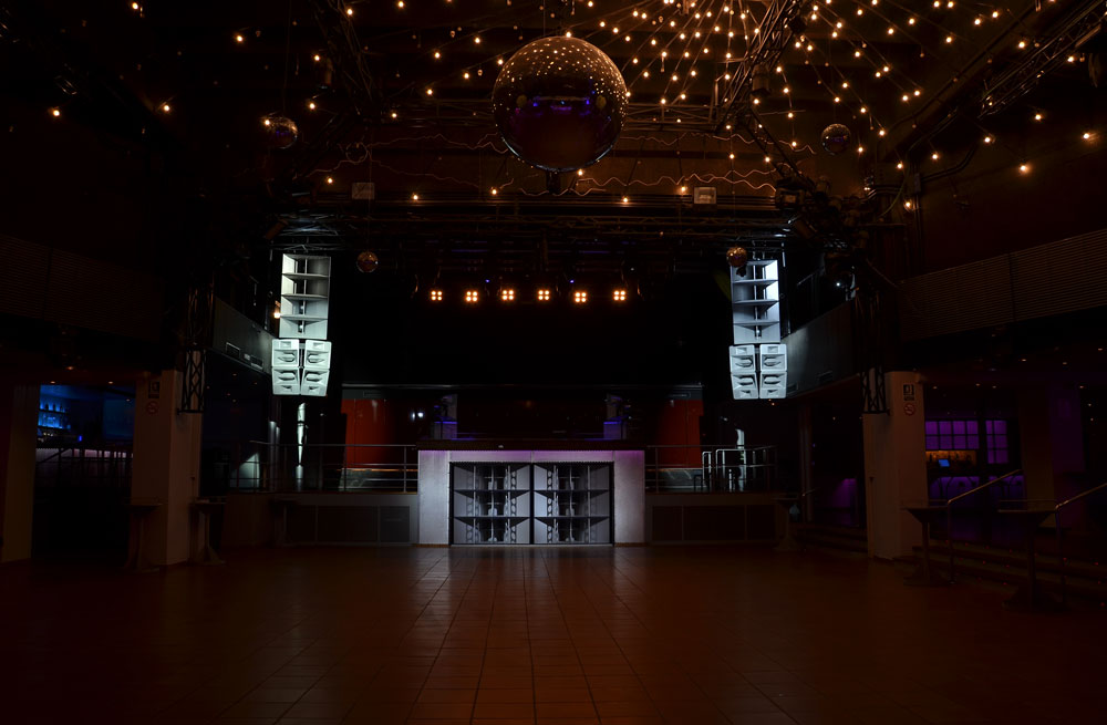 Main hall in Space, Ibiza