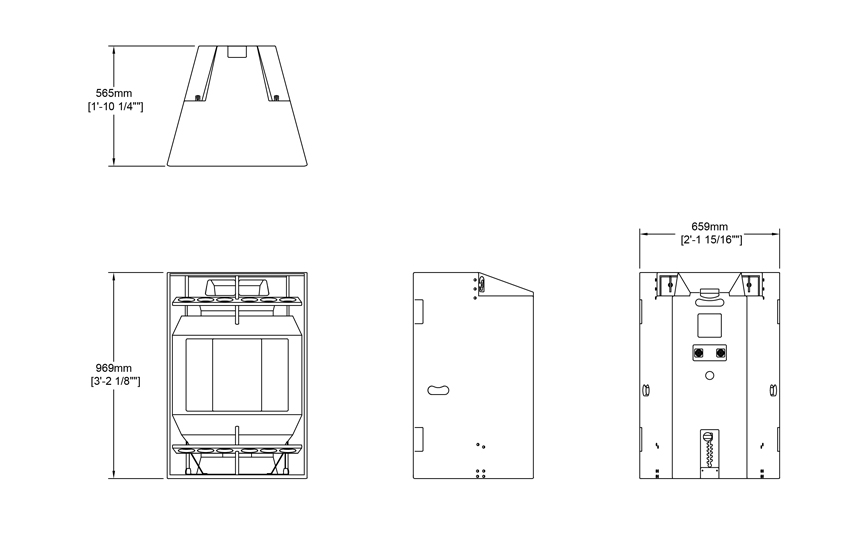 Evo 7TL-215 Technical Drawing