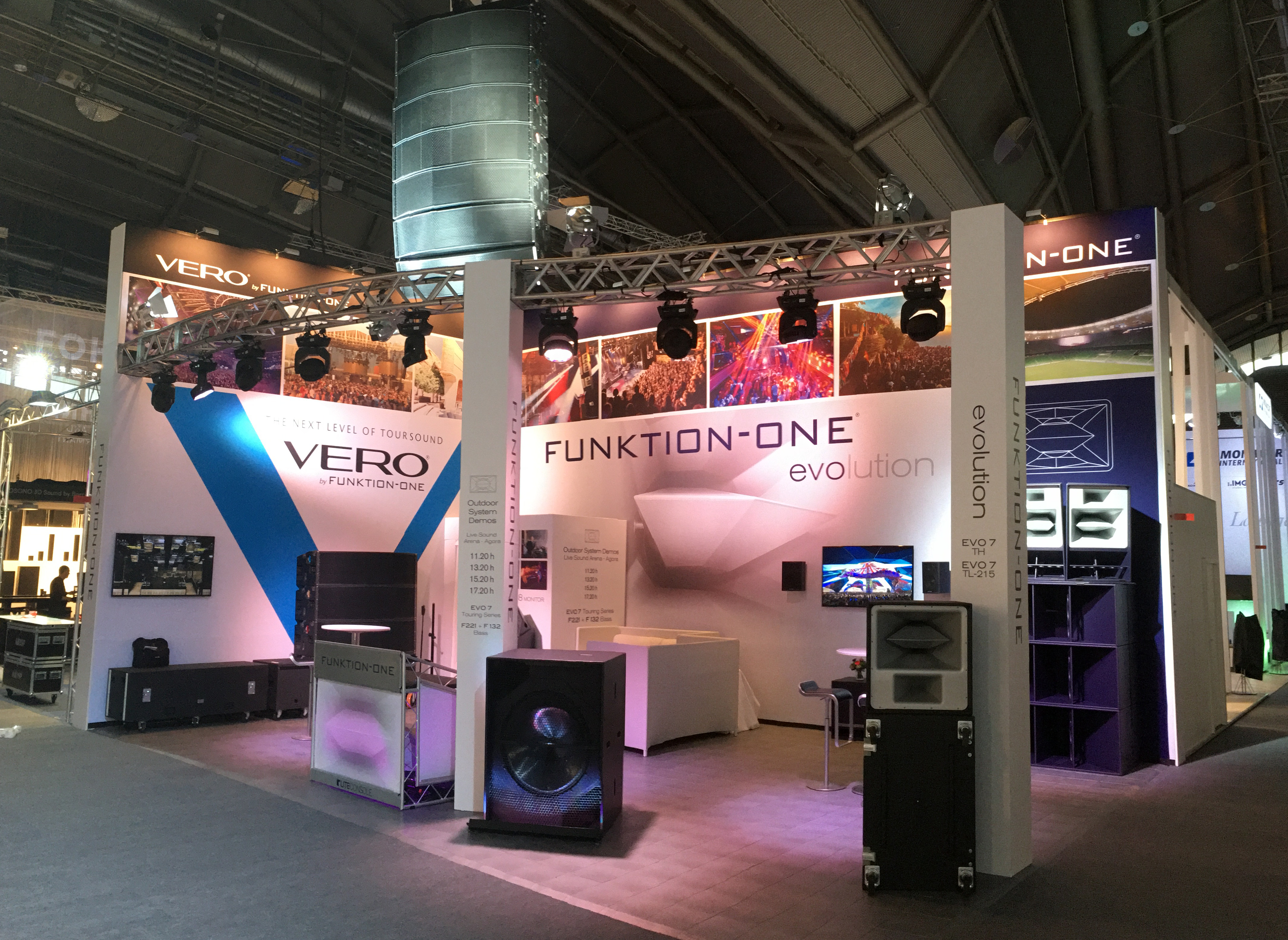 Funktion-One Trade show image