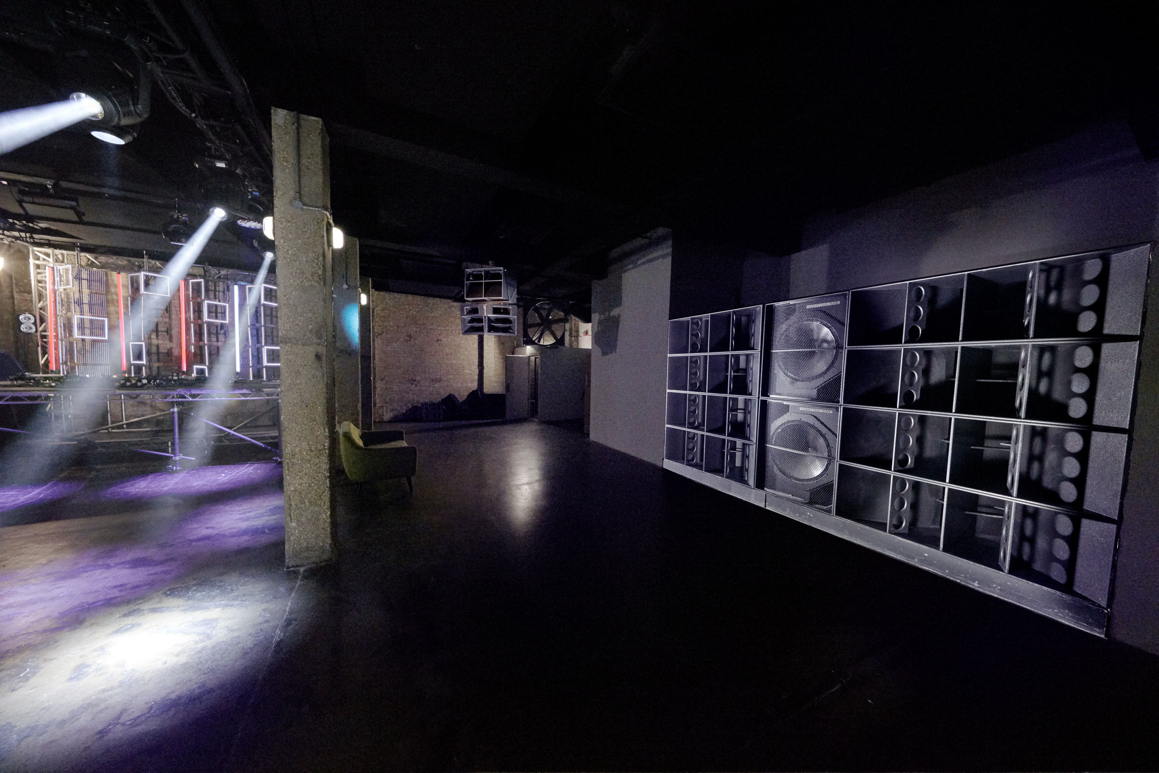 Funktion One News Late Night London Reawakened By Sound Services