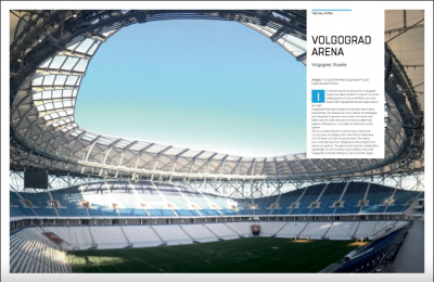 Volgograd Arena article in Mondo|Stadia