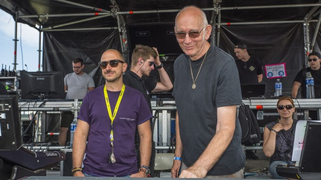 FOH MAIN STAGE CHRISTOPHE BONNEAU AUDIO 2 AND JOHN NEWSHAM F1ELB Graded Day 2_51